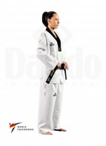 Dobok taekwondo traje de taekwondo nombre