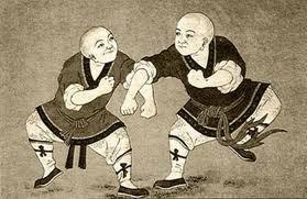 leyenda del origen del karate