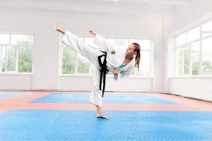 Patadas de Karate