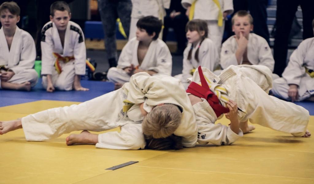 judokas niños