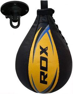 RDX Velocidad Bola Cuero MMA Peras Boxeo Pera Rápida Speed Bag Entrenamiento Gimnasio
