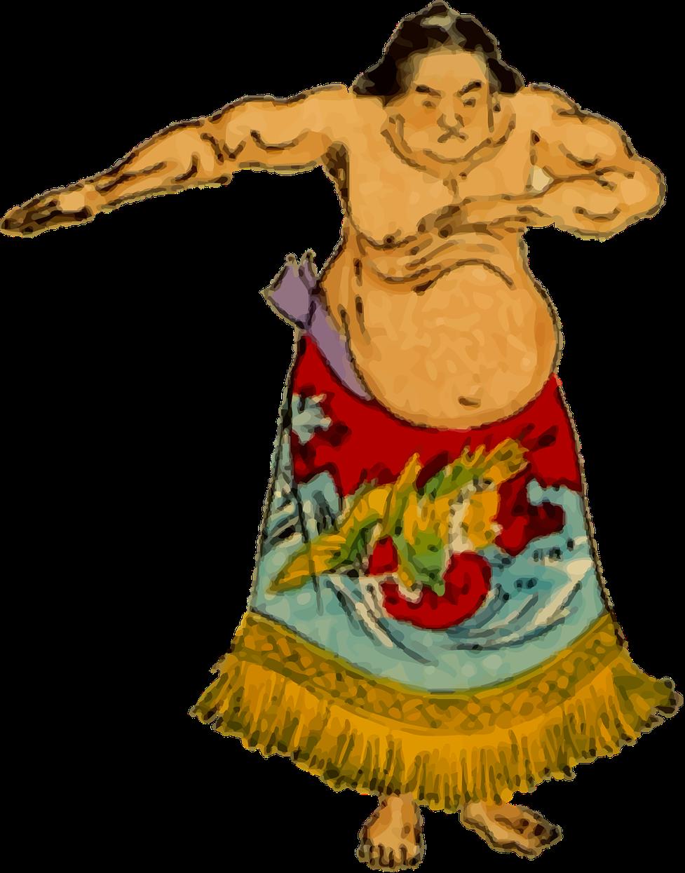 Cómo es la vida de un luchador de sumo