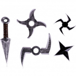 Armas ninja listado
