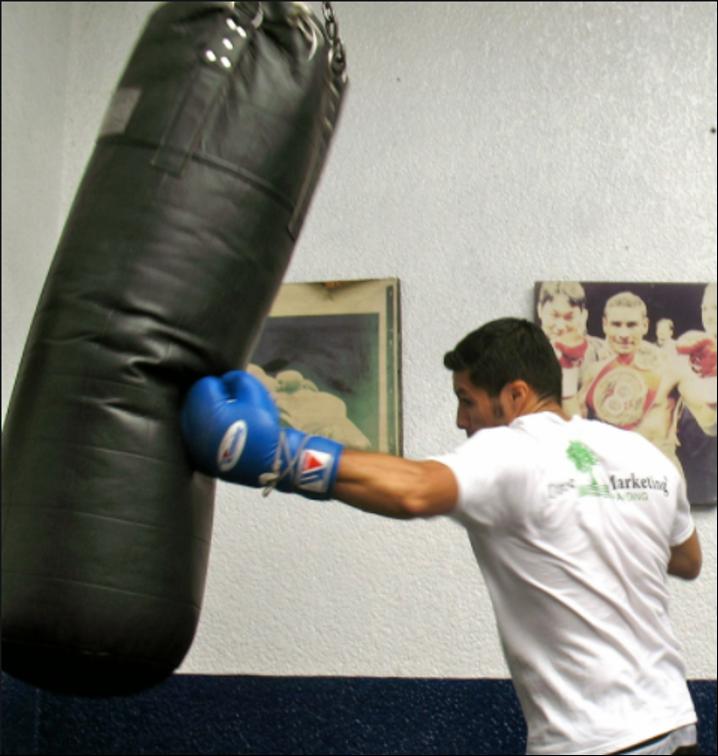 ¿Qué músculos se ejercitan con el saco de boxeo?