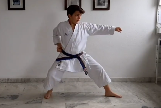¿Cómo entrenar karate en casa?